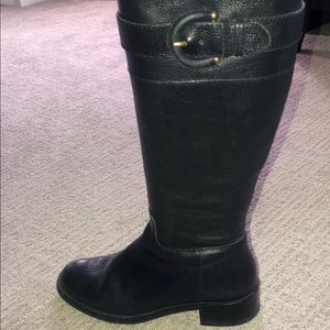 Banana Republic tall leather boots